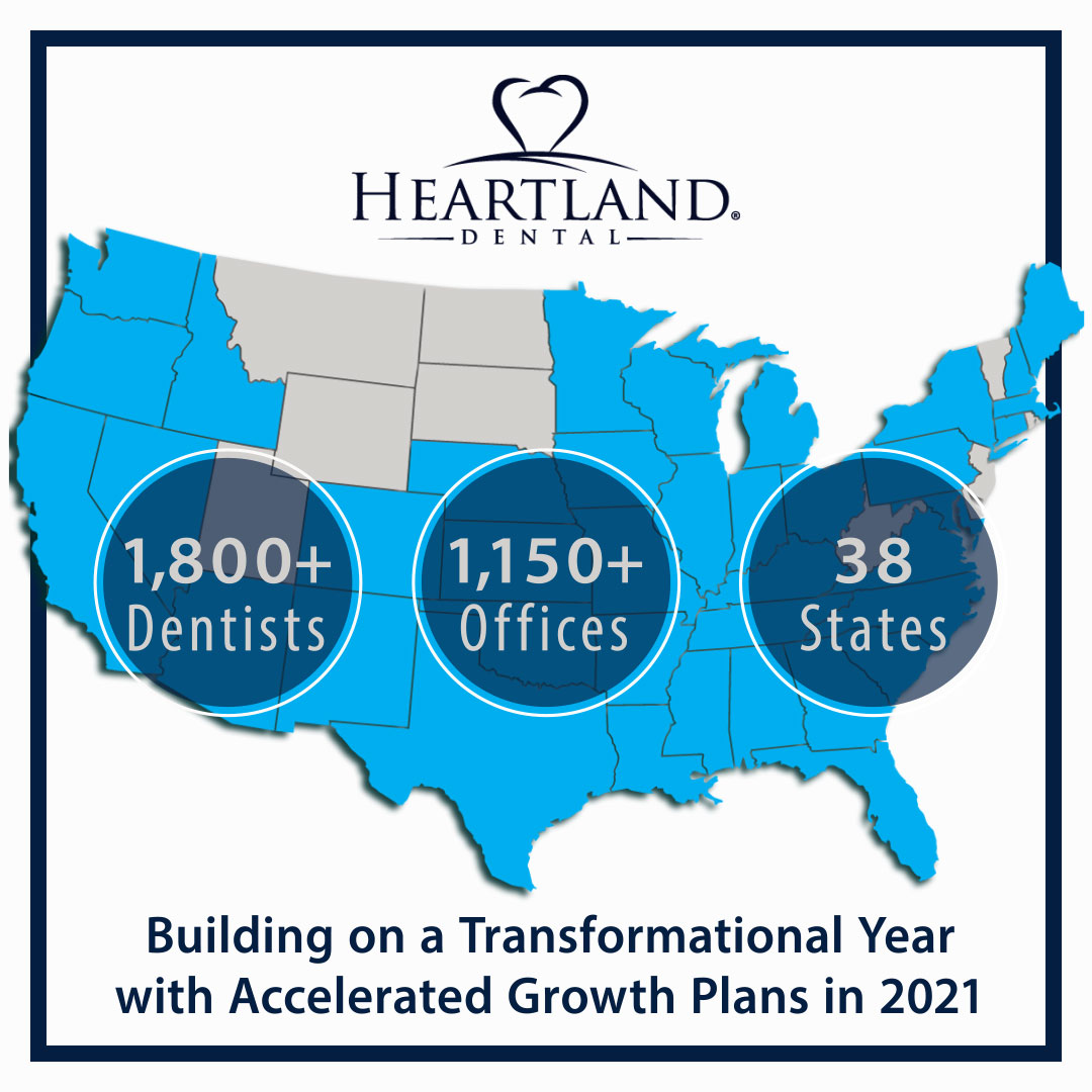 Heartland Dental Builds on Transformational Year with Accelerated Growth Plans for 2021